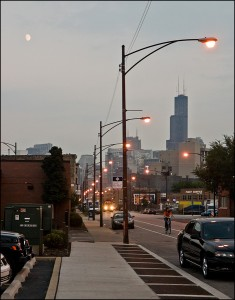 Moonrise - Sears Tower